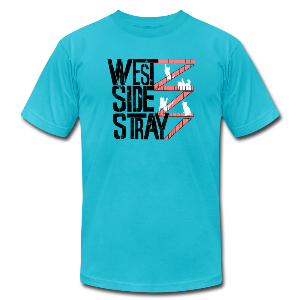 West Side Stray (West Side Story Musical) Cat T-Shirt - BravoPapa Clothing