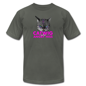 Catwig and the Angry Hiss (Hedwig and the Angry Inch Musical Parody) Cat T-Shirt - BravoPapa Clothing