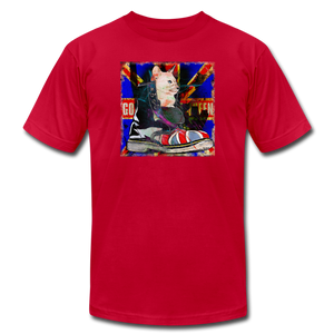 Cat Save The Queen Punk Cat T-Shirt - BravoPapa Clothing