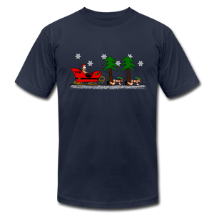 XXXMas Naughty Gay Santa Christmas T-Shirt - BravoPapa Clothing