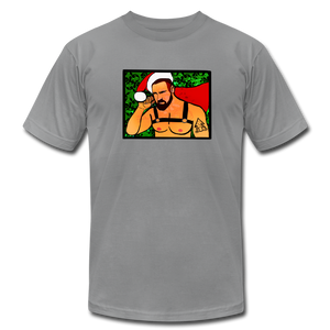 Santa Daddy Harness Gay Christmas T-shirt - BravoPapa Clothing
