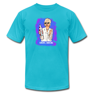 Cheers, Patsy (Ab Fab Tribute) T-Shirt - BravoPapa Clothing