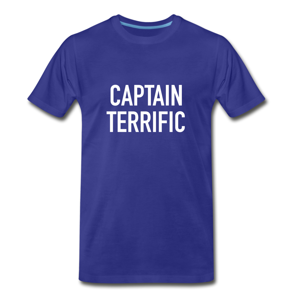 Captain Terrific (90s Vintage Style) Shirt - royal blue