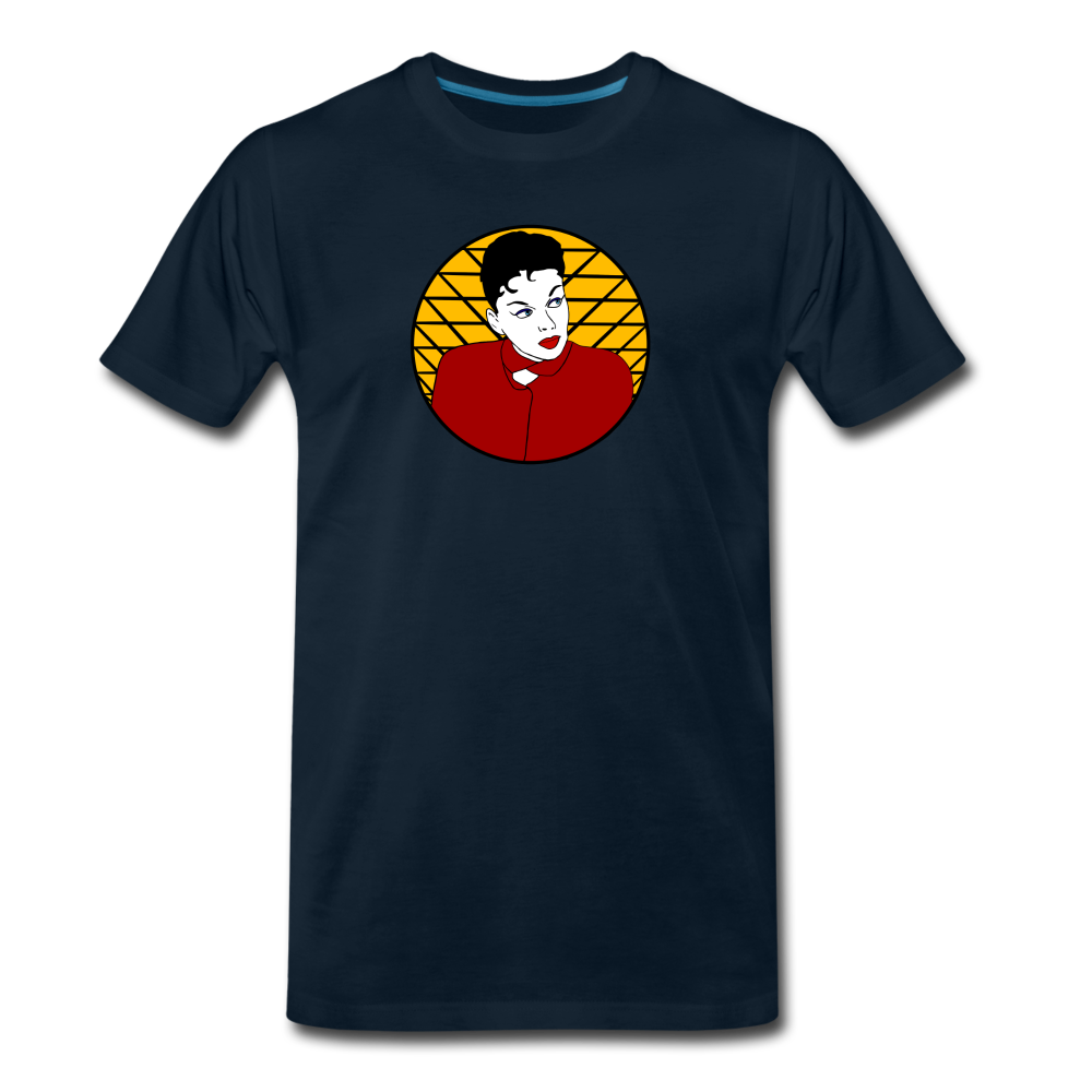 The Diva. Judy Garland Tribute Shirt - deep navy