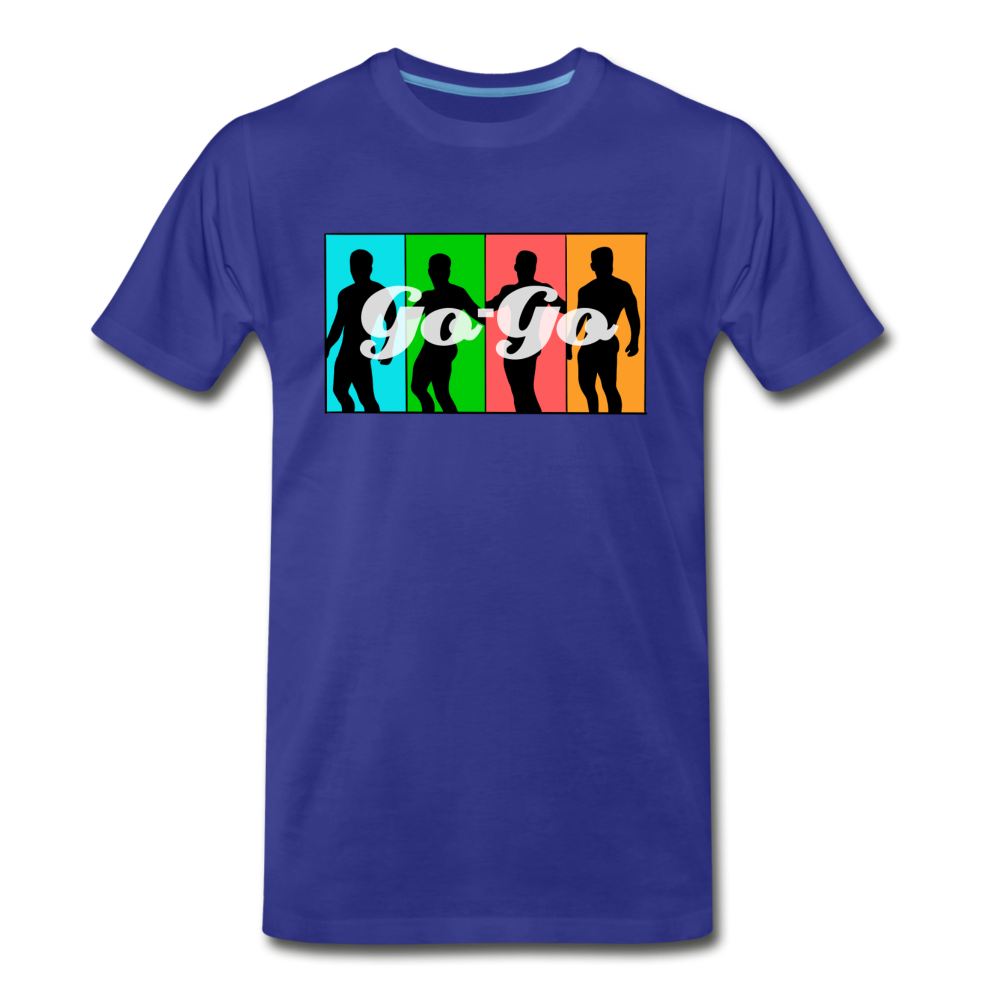 Gay Go-Go Boy Dancer Shirt - royal blue