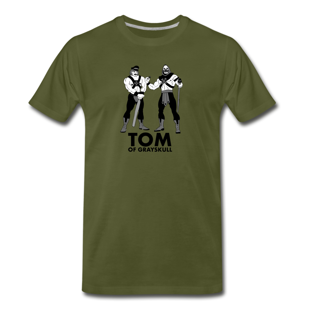 Tom of Grayskull - olive green