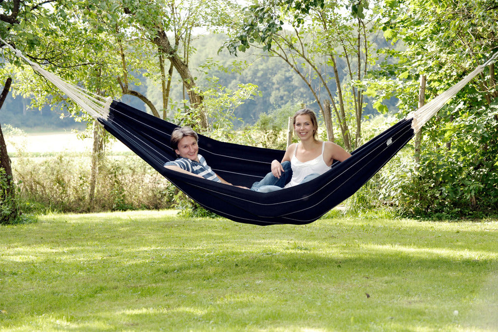 barbados black double hammock barbados black hammock   lazy hammocks uk  rh   lazyhammocks co uk