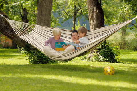 Brasilia Cappuccino Single Hammock