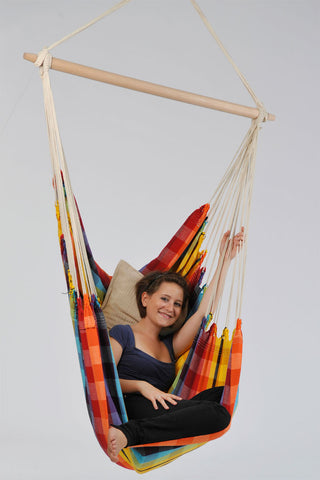 Brazil Rainbow Hanging Chair