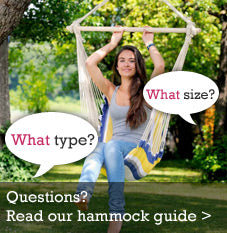 Read our hammock buyers guide