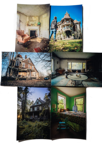House of Mysteries Photo Bundle Collection#2 -signed