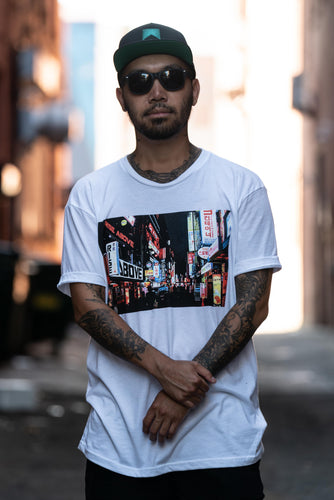Foreign Lights tee (white)
