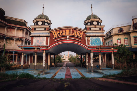 Nara Dreamland Main Gates - Wall Print