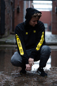 Limitless Hoodie black and yellow