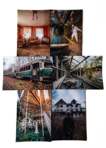 Abandoned Diaries photo bundle Collection#3 Signed