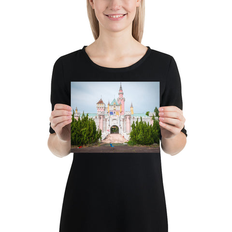 Nara Dreamland Castle - Wall Print