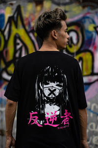 The Rebellious Anime Girl T-Shirt