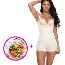 Load image into Gallery viewer, Seamless Body Shaper For Women Waist Shapewear + Free Fitness Nutrition Plan Booster