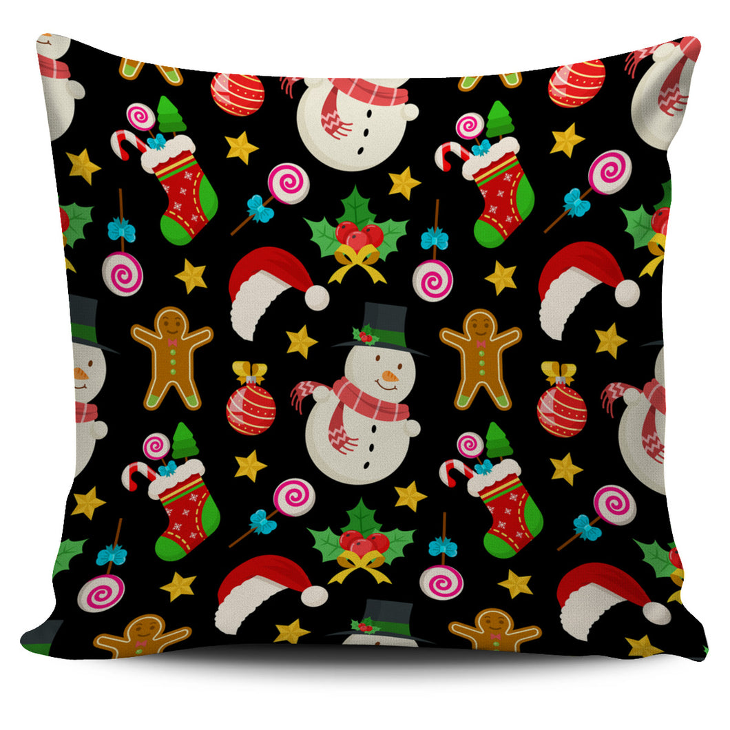 Christmas Lovely Good Vibes Only Pillow Cover