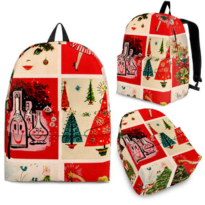 CHRISTMAS BACKPACK red