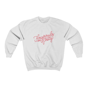 Fingernails Unisex Heavy Blend™ Crewneck Sweatshirt