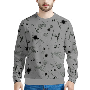 Dark Silver Star Wars Sweater