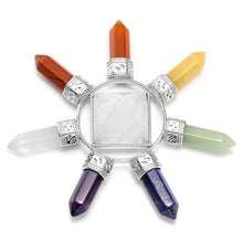 Load image into Gallery viewer, 7 Chakra Healing Crystals Grids Kit