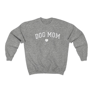 Dog Mom Heart DT2GO Unisex Heavy Blend™ Crewneck Sweatshirt
