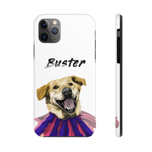 Personalized Dog Case Case Mate Tough Phone Cases