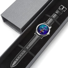 Load image into Gallery viewer, Genuine Leather 7 Chakras Watch