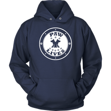 "Load image into Gallery viewer, Men Women & Youth ""Paw Lives"" Dog Rescue Awareness Hoodie"