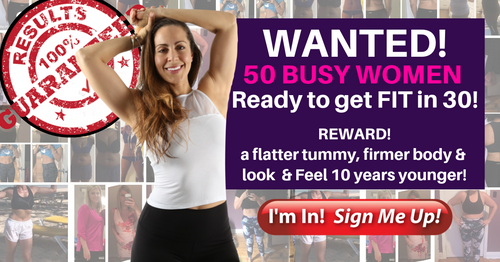 FREE Live Fitness Webinar with Tina Toner: Fit with HIIT in 30