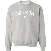 Load image into Gallery viewer, Dog Mom Sweatshirt Crewneck + Cute Womens Free Women's Paw Necklace - Comfortable Woman's Sweater - Winter Clothing Gift for Her