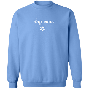 ON SALE: Dog Mom Crewneck Sweater + Cute Free Paw Necklace - Comfortable Woman's Sweatshirt - Winter Dogs Clothing Gift for Her, fur mama