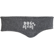 Load image into Gallery viewer, Dog Mom Embroidery Port Authority Fleece Headband