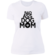 Load image into Gallery viewer, Bad ass dog mom T-Shirt
