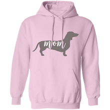 Load image into Gallery viewer, Dachshund Dog Mom Pullover Hoodie + Free Paw Necklace