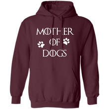 Load image into Gallery viewer, Mother Of Dogs Pullover Hoodie + Free Paw Necklace
