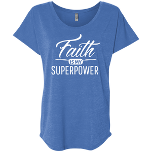 Faith Loose Fitted Comfy Women's T-Shirt
