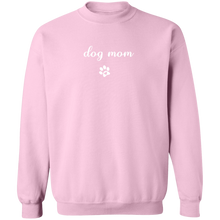 Load image into Gallery viewer, ON SALE: Dog Mom Crewneck Sweater + Cute Free Paw Necklace - Comfortable Woman's Sweatshirt - Winter Dogs Clothing Gift for Her, fur mama
