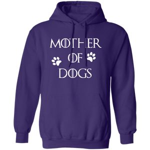 Mother Of Dogs Pullover Hoodie + Free Paw Necklace