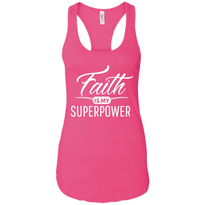 Celebrate Life Ladies Inspirational Racerback Tank