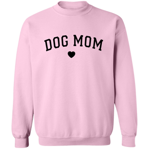 FLASH SALE: Dog Mom Sweatshirt Crew Neck + Cute Womens Free Dog Socks - Comfortable Woman's Sweater - Winter Dogs Clothing Gift for Her, fur mama