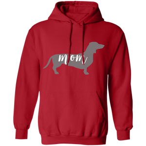 Dachshund Dog Mom Pullover Hoodie + Free Paw Necklace