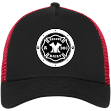 "Load image into Gallery viewer, ""Rescue A Dog Daily"" New Era® Snapback T"