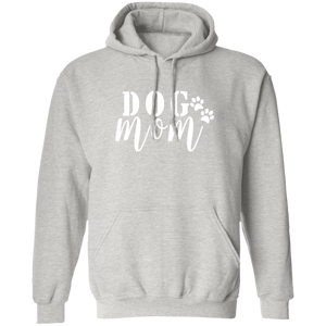 Dog Mom Pullover Hoodie + Free Paw Necklace