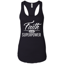 Load image into Gallery viewer, Faith Inspirational Ladies Close Fitting Racerback Tank