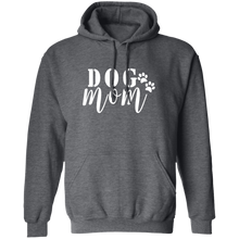 Load image into Gallery viewer, Dog Mom Pullover Hoodie + Free Paw Necklace