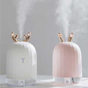 220ML Ultrasonic USB Air Humidifier Aroma Essential Oil Diffuser