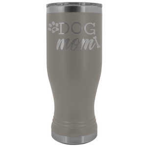 Dog Mom Paw And Bone 20oz Tumbler + Free Paw Necklace